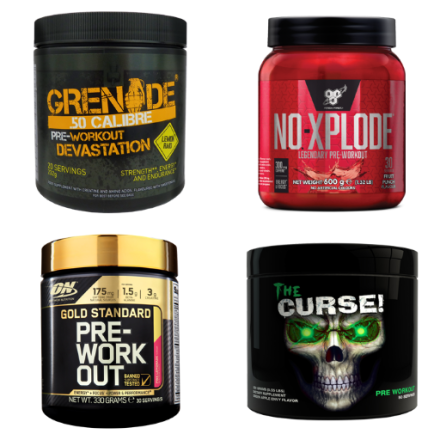 Shop By Pre Workout